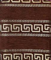 Комплект покрывал на диван и 2 кресла из шенилла - Код 80-24