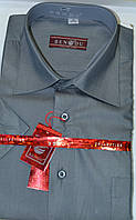Мужская рубашка c коротким рукавом BENDU (38,39,40 ворот)