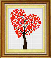 «Древо любви» LasKo TD004 Набор для рисования камнями (на холсте)