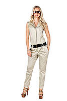 Женский стильный яркий комбинезон с брюками 402