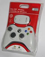 X-BOX 360 фирменный безпроводной белый(оригинал)