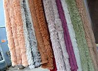 Плед-одеяло бамбуковое на кровать длинный ворс