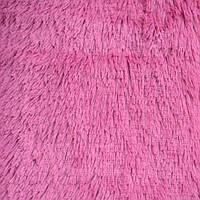 Покрывало-плед ворсистое розовое