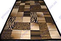 Ковер Super Elmas (Турция) сафари квадраты коричневый