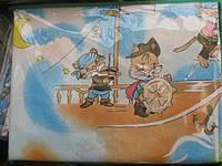 Постельное белье детское Gold - коты на кораблике