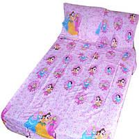 Постельное белье детское в кроватку Gold принцессы из сказок