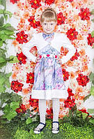Очаровательное платье для девочки с болеро