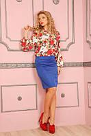 Женская классическая летняя юбка от производителя | Разные цвета