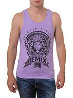 Майка мужская летняя Remix 3361-2 фиолетовая