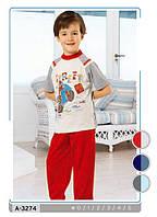 Пижама детская для мальчиков Street с коротким рукавом