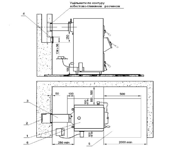 Рекомендуемая схема установки