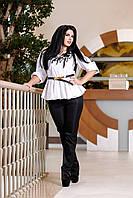 Блуза белая Акапулько А1 Медини 42-44 размер