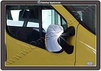 Нерж. Накладки на зеркала Opel Vivaro (Опель Виваро), нерж. Carmos
