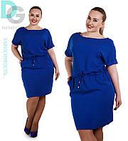 Платье женское  батал 22  (Гл)