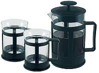 Набор френч пресс Con Brio СВ5280 чайник заварник и стаканы