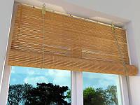 Бамбуковые ролеты, однотонные 80х160см.