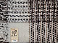 Плед шерстяной Рогожка «VLADI»  - Двуспальный