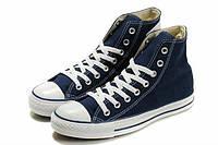 Кеды Converse Navy высокие синие