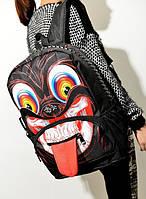 Рюкзак для студентов. Рюкзак череп. Модный рюкзак. Интернет магазин рюкзаков.Код: КРСК92