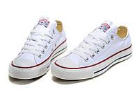 Кеды Converse White Low низкие белые