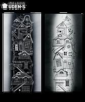 """Дизайн-радиатор """"Городок"""" (диптих)"""