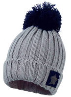 Стильная зимняя шапка вязаная