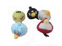 Микс мягких игрушек MP 0738   Angry Birds, 5 видов