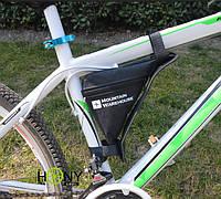 Велосумка треугольная под раму, бардачок