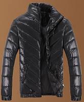 Куртка мужская чёрная - демисезонная
