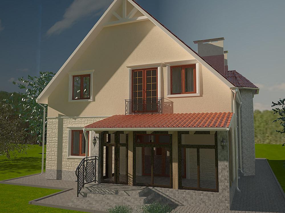 Цена дизайн фасадов