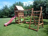Детская площадка Антошка для улицы и дачи (игровой комплекс с горкой)
