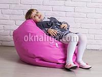 Кресло мешок груша детская   фиолетовый  Oksford