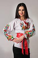 Купить элегантную блузу-вышиванку Мальвы
