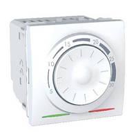 Термостат кондиционирование и отопление 8А +5...30°С Белый Schneider Electric Unica (MGU3.501.18)