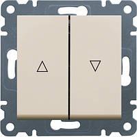 Выключатель для жалюзи Контактор LUMINA2 Hager цена WL0321
