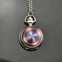 """Часы-подвеска """"Капитан Америка"""" с кварцевым механизмом"""
