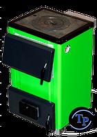 Бюджетный твердотопливный котел с плитой TAL 14П, мощностью 14 кВт. (Украина)