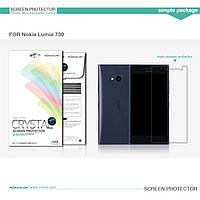 Защитная пленка Nillkin для Nokia Lumia 730 глянцевая