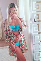 Женская пляжная накидка (две расцветки)