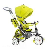 Детский трехколесный велосипед-коляска MODI T500 Зеленый 6 в 1