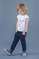Детские джинсы с золотыми вставками