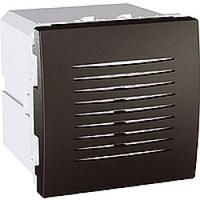 Звонок электронный 5 мелодий 2-модульный Графит Schneider Electric Unica (MGU3.786.12)