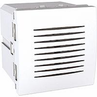 Звонок электронный 5 мелодий 2-модульный белый Schneider Electric Unica (MGU3.786.18)