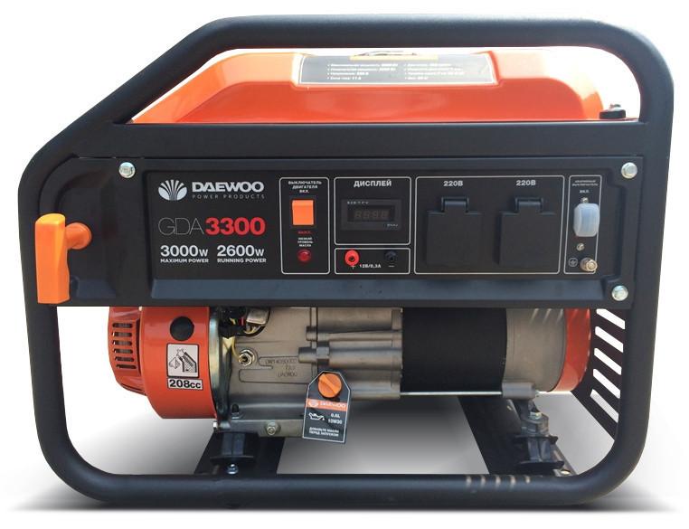 Бензиновый генератор daewoo gda 6500e генератор