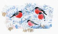 Набор для вышивки Идейка Снегири (ide_D327) 55×36 см