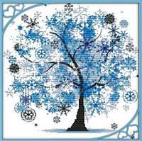 Набор для вышивки Идейка Дерево счастья 4 (ide_F371) 41×41 см
