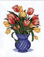 Набор для вышивания Идейка Нежные тюльпаны (ide_H335) 37×47 см