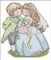 Набор для вышивки Идейка Свадьба (ide_K565) 25×28 см