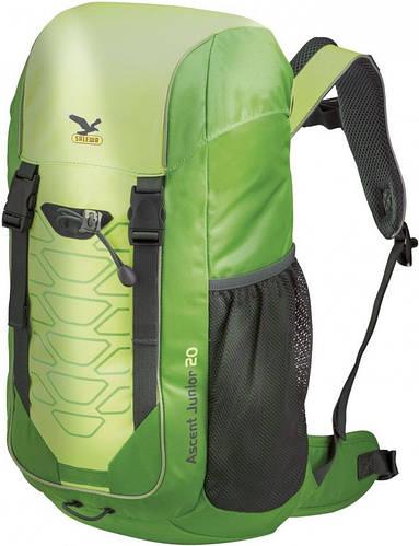 Детский универсальный туристический рюкзак на 20 л. Salewa Ascent junior 20 3266/5700 зеленый