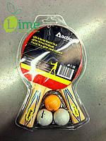 Ракетка для тенниса и мячи, Active